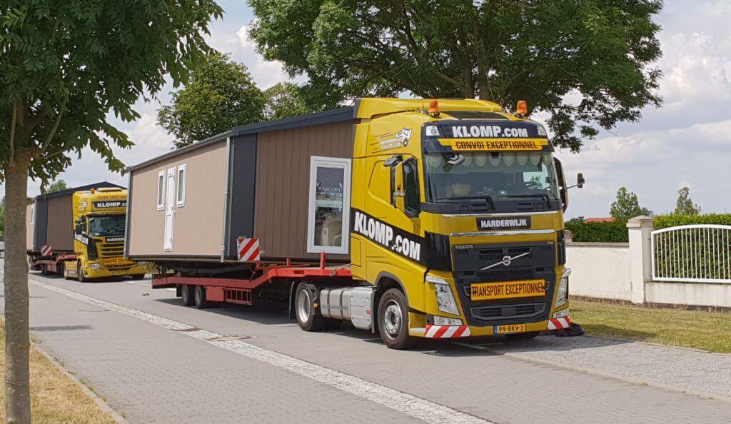 Caravan transport - Klomp transport B.V.
