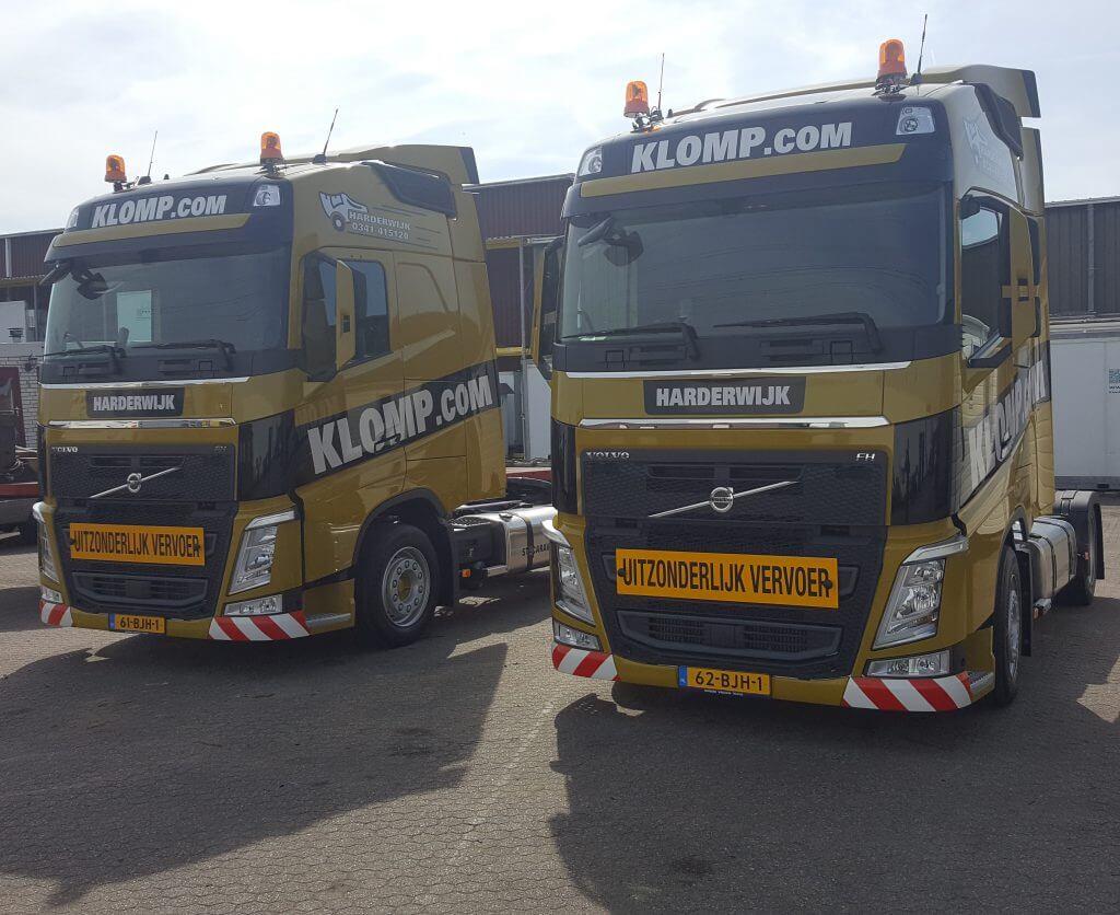 Volvo's Klomp Transport
